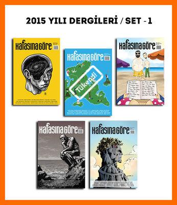 Kafasına Göre 2015 Yılı Dergileri / Set - 1
