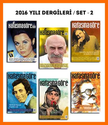 Kafasına Göre 2016 Yılı Dergileri / Set - 2