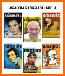 KG Dergiler - Kafasına Göre 2016 Yılı Dergileri / Set - 2