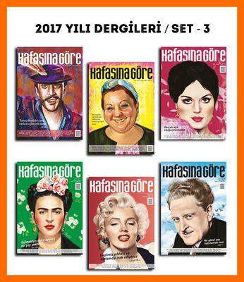 Kafasına Göre 2017 Yılı Dergileri / Set - 3