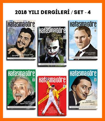 Kafasına Göre 2018 Yılı Dergileri / Set - 4