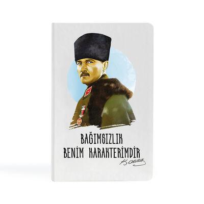 Atatürk - 13x21 Büyük Defter