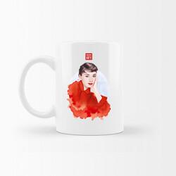 KG Hediyelik Eşyalar - Audrey Hepburn - Kupa Bardak