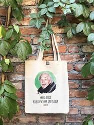 KG Hediyelik Eşyalar - Einstein - Ham Bez Çanta