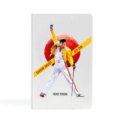 Freddie Mercury - 13x21 Büyük Defter