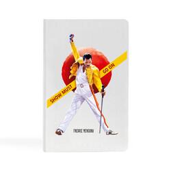KG Hediyelik Eşyalar - Freddie Mercury - 9x14 Küçük Defter