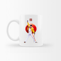 KG Hediyelik Eşyalar - Freddie Mercury - Kupa Bardak