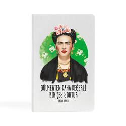 KG Hediyelik Eşyalar - Frida Kahlo - 13x21 Büyük Defter
