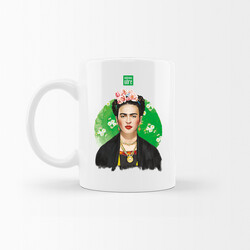 KG Hediyelik Eşyalar - Frida Kahlo - Kupa Bardak