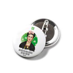 KG Hediyelik Eşyalar - Frida Kahlo - İğneli Buton Rozet