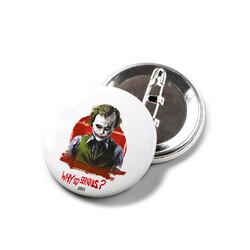 KG Hediyelik Eşyalar - Joker - İğneli Buton Rozet