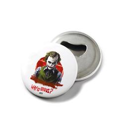 KG Hediyelik Eşyalar - Joker - Mıknatıslı Açacak Rozet