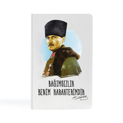 Kemal Atatürk - 9x14 Küçük Defter